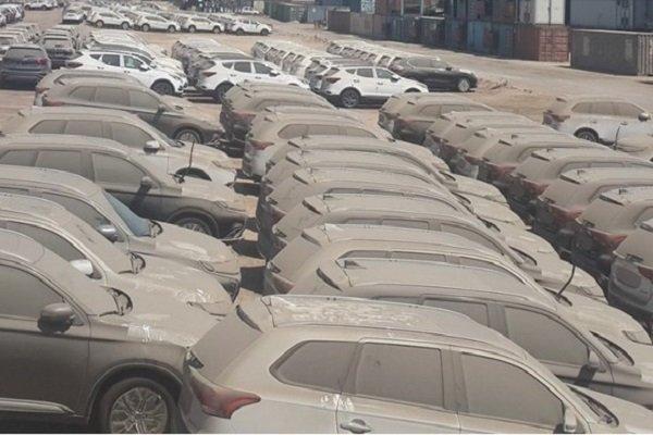 خودروهای معطل مانده در گمرک خرمشهر 2 ساله شدند