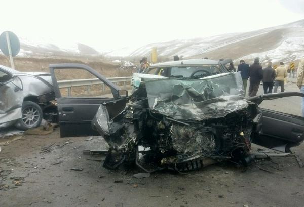 پزشکی قانونی: بیش از ۱۶۰۰ کشته بر اثر تصادفات رانندگی در مهرماه
