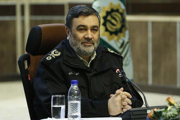 فرمانده نیروی انتظامی: دستگیری برخی آشوبگران در روزهای آینده انجام میشود