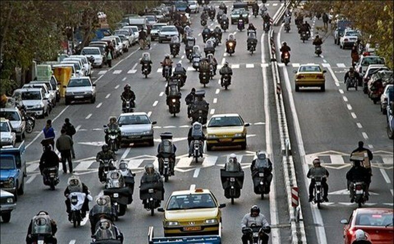 7 میلیون موتورسوار کشور گواهینامه ندارند