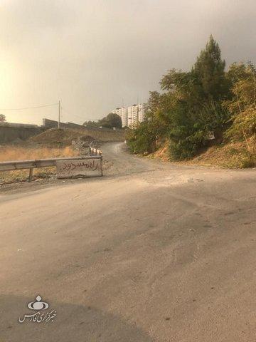 شهرداری« پروژه» رها شده را با سنگ بست