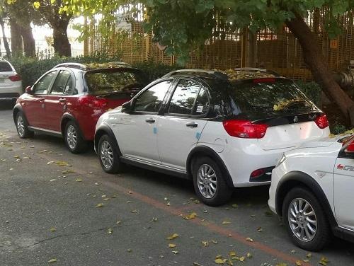 انتشار تصاویر جدید از خودروی