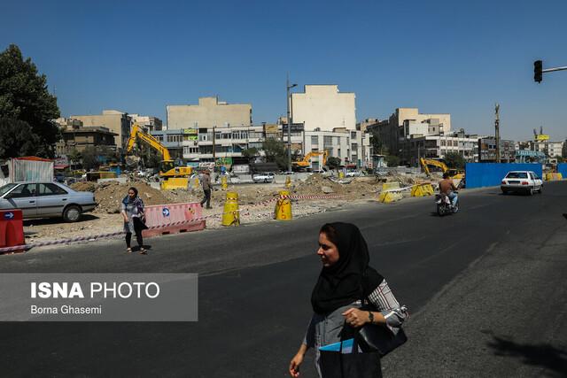 انجام نظرسنجی از اهالی گیشای تهران در خصوص زیرگذر