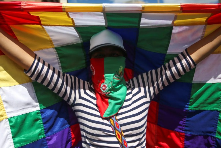 اعتراضات رنگارنگ کلمبیا