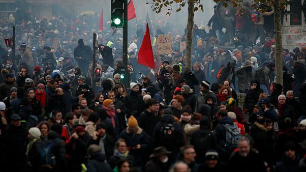 اعتصابات سراسری فرانسه