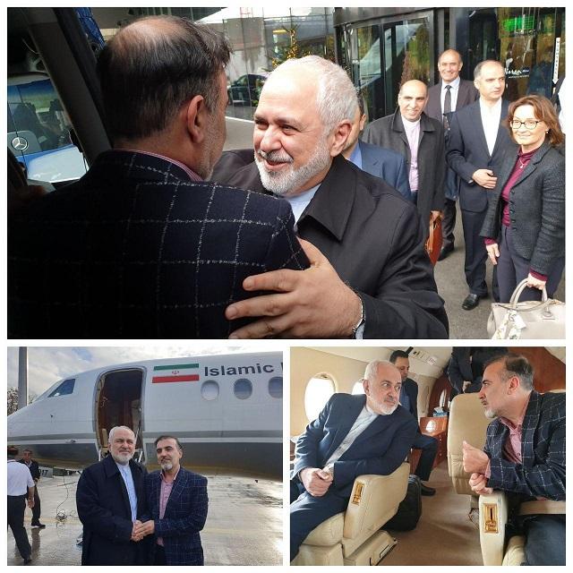 مبادله زندانیان ایرانی و آمریکایی/ ظریف برای مبادله به سوئیس رفت