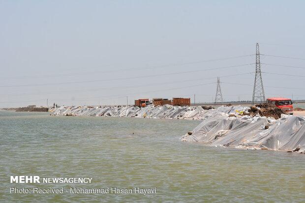 خطر سیلاب در کمین خوزستان