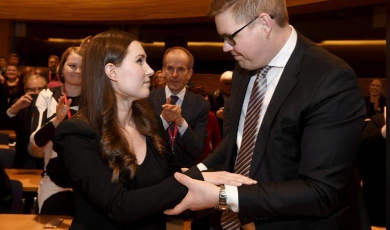 جوانترین نخست وزیر  فنلاند