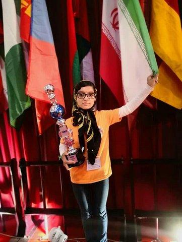 دختر نابغه 12 ساله بلوچ در آرزوی فضانوردی (+عکس)