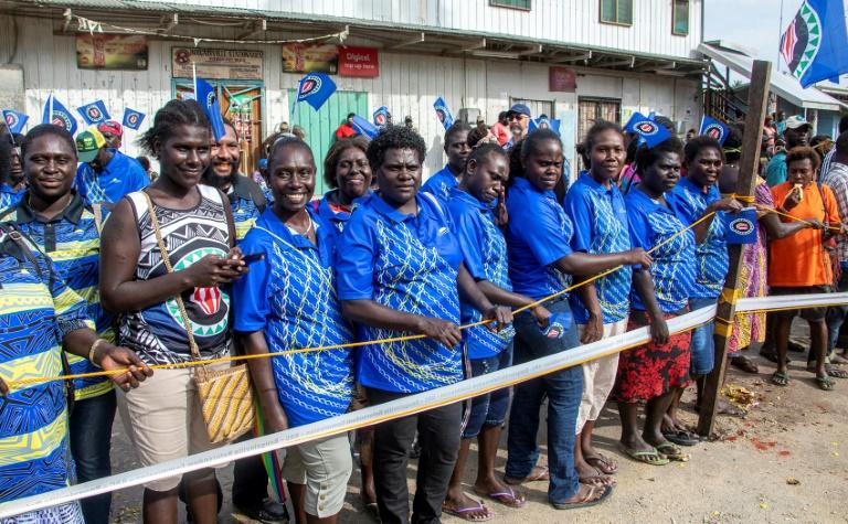 شادمانی برای یک جدایی/  جزیره بوگانفیل مستقل میشود