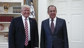 ترامپ: ایران یکی از موضوعات گفتوگویم با لاوروف بود
