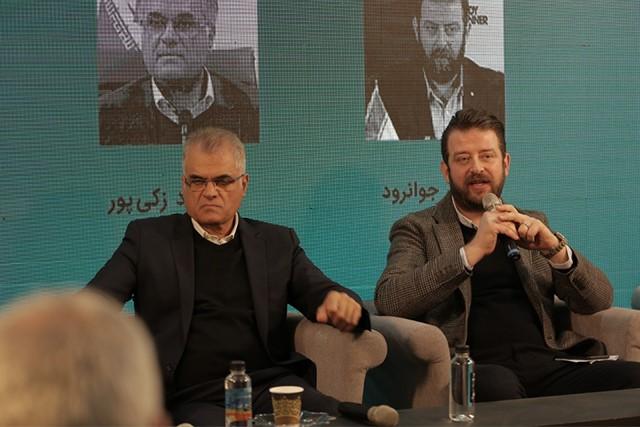 حضور بنیانگذار بادی اسپینر در نشست شورای عالی برندهای ایران