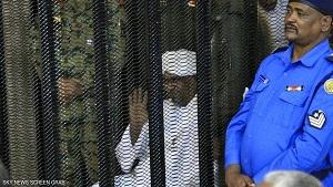 عمر البشیر به تحمل ۱۰ سال زندان محکوم شد