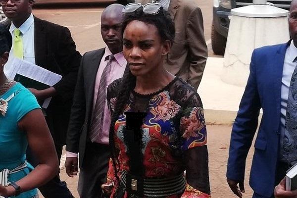 همسر معاون رئیس جمهور زیمباوه ماری موبایوا