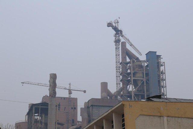 توقف فعالیت دو واحد تولید سیمان در تهران