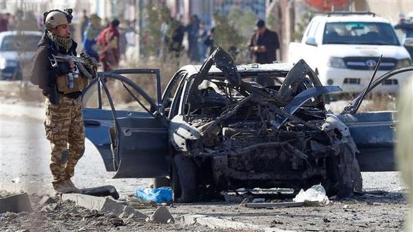 مرگ 10 عضو یک خانواده بر اثر انفجار بمب کنارجادهای در افغانستان