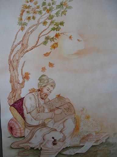 نمایشگاه نگارگری در نیاوران؛ حمایت از خیریه با «هنر»