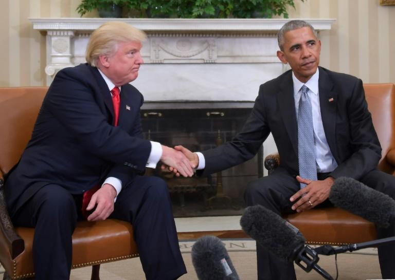 ترامپ و اوباما در دهه 2010