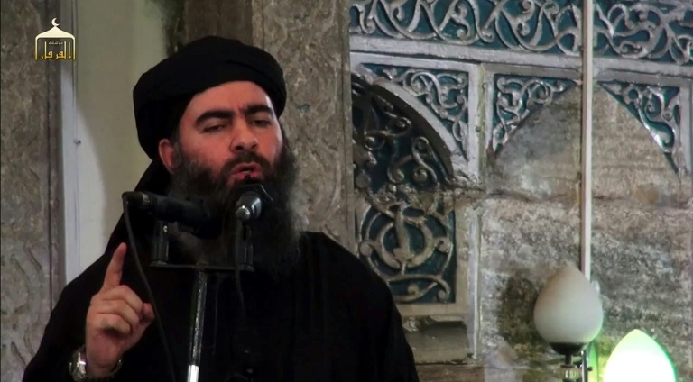 ابوبکر بغدادی در دهه 2010