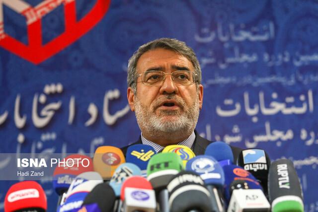 وزیر کشور: بیش از ۹۱ درصد از داوطلبان انتخابات تایید صلاحیت شدند
