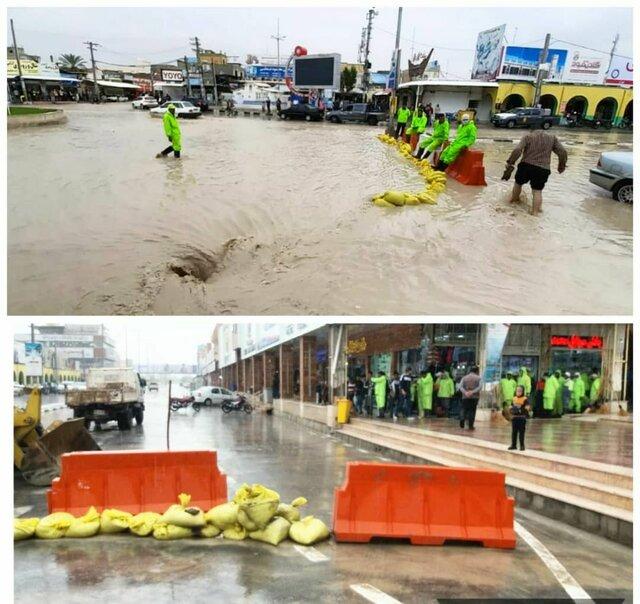 مفقود شدن یک نفر در هرمزگان بر اثر سیلاب
