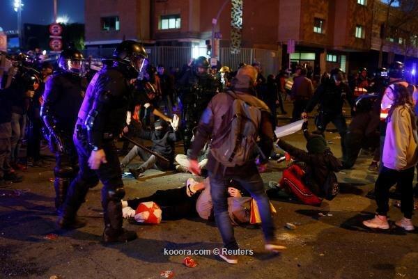 بازداشت ۹ نفر و زخمی شدن ۴۶ نفر بعد از آشوب در ال کلاسیکو