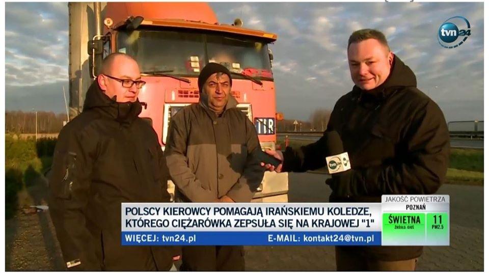 کامیون اهدایی لهستانیها