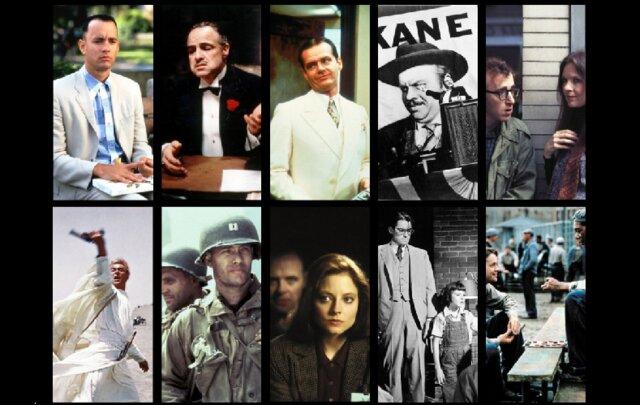 ۱۰۰ فیلم برتر هالیوود به انتخاب هالیوود (+لیست)