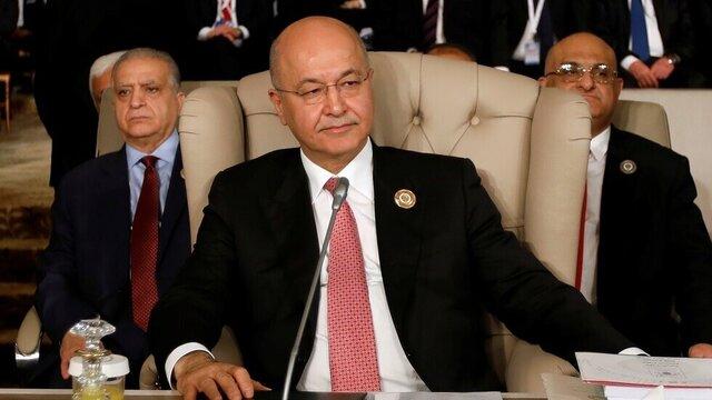 جمعآوری امضا در پارلمان برای عزل رئیسجمهور عراق