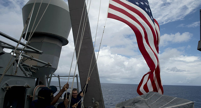 ادعای نیروی دریایی آمریکا درباره نجات سه دریانورد ایرانی