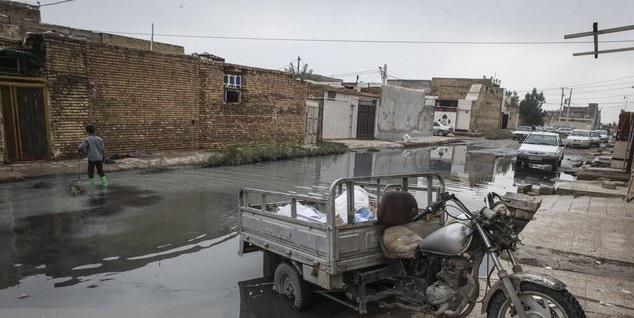 گذری بر بارش 25 آذر ماه اهواز و مشکل دفع آب های سطحی