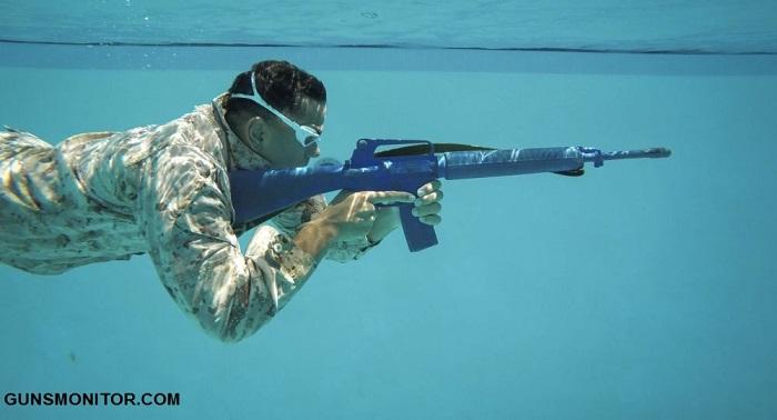 فناوری نظامی آمریکا برای شلیک دقیق در آب! (+تصاویر)
