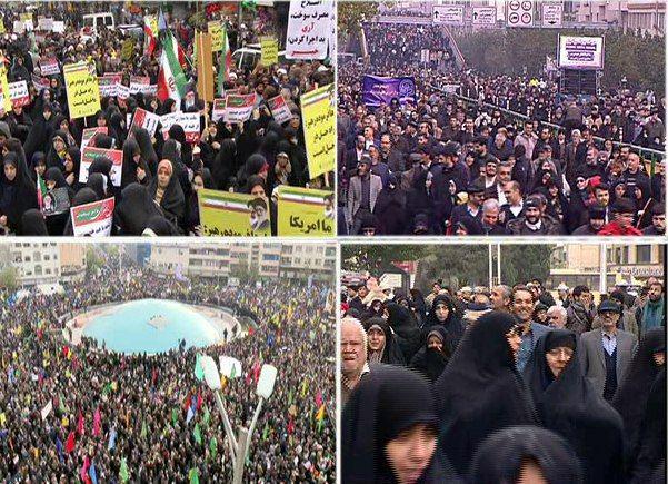 برگزاری راهپیمایی امروز تهران در امنیت کامل