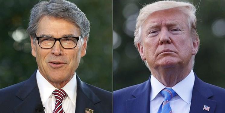وزیر انرژی آمریکا: رؤسای جمهور آمریکا برگزیده خداوند هستند