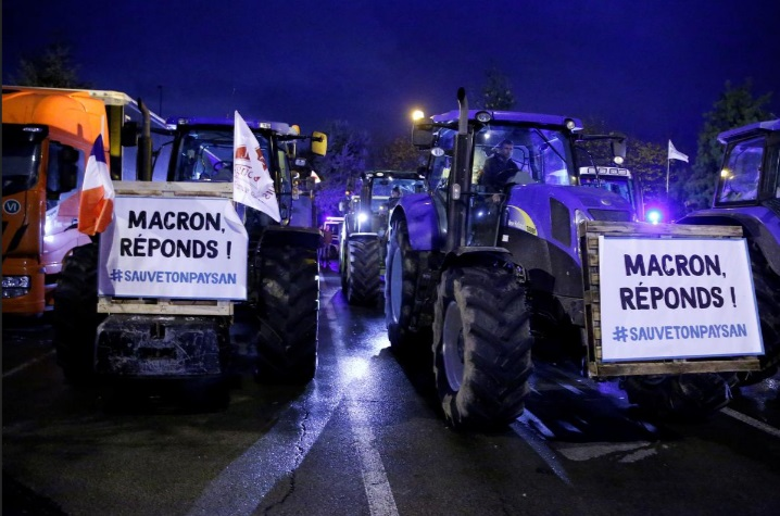 اعتراض کشاورزان فرانسه