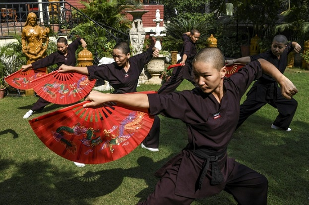 راهبه تبت کونگفو کلیشه مردسالاری