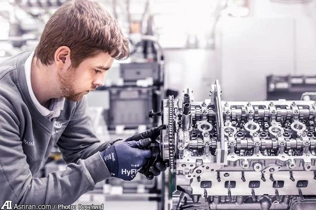 در کارخانه انگلستان بنتلی چه خبر است؟! (+فیلم و تصاویر)