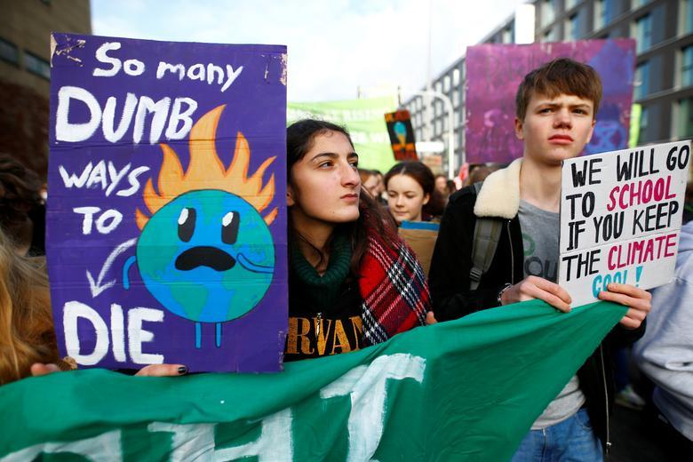 تغییرات اقلیمی تظاهرات