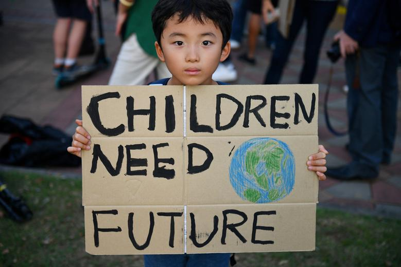 تظاهرات مردم جهان تغییرات آب و هوایی