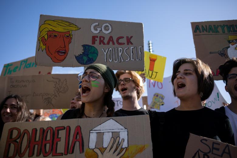 تظاهرات تغییرات آب و هوایی
