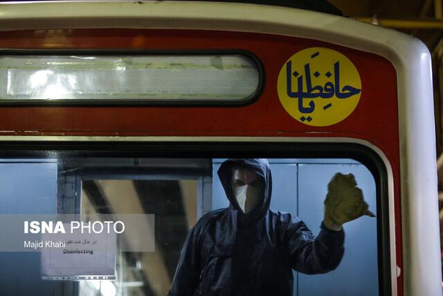 کاهش ۸۵ درصدی مسافران مترو و اتوبوس
