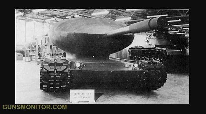 پروژه نظامی کرایسلر؛ یک تانک متفاوت با ظاهری عجیب!(+تصاویر)