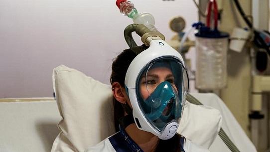 استفاده از ماسک غواصی آماتور به جای ماسک اکسیژن در بیمارستانهای اروپایی