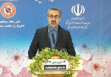 کیانوش جهانپور: کرونا جان ۳۰۳۶ نفر را در ایران گرفت
