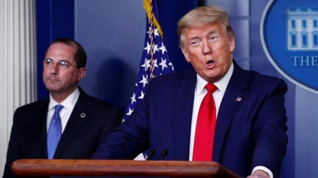 ترامپ زدن ماسک را توصیه کرد اما گفت خودش ماسک نخواهد زد