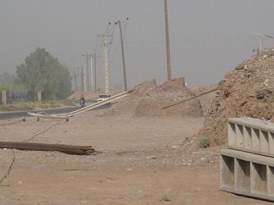 توفان برق ۳۰ روستای ریگان در کرمان را قطع کرد