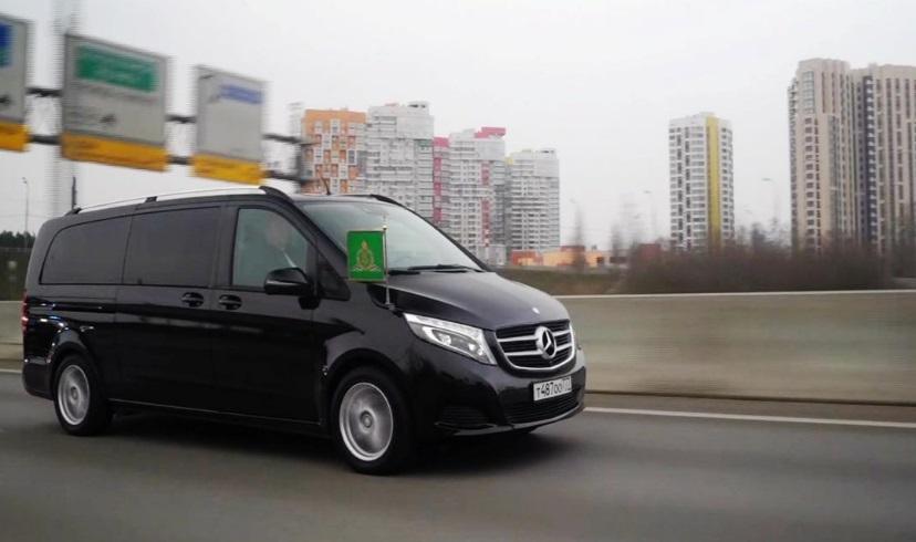 خودروی رهبر کلیسای ارتدکس روسیه
