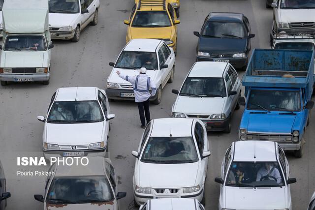 ثبت ترافیک پرحجم صبحگاهی در ۹ بزرگراه تهران