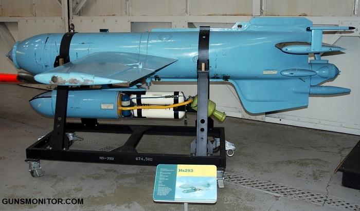 هنشل Hs 293؛ درباره یک بمب پیشرفته در جنگ جهانی دوم!(+تصاویر)