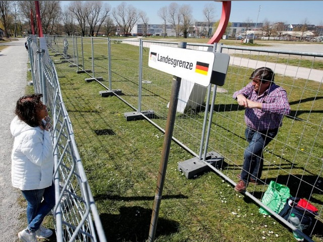 مرز سوئیس و آلمان کرونا